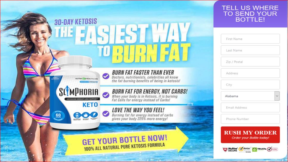 Slimphoria Keto Reviews® [ Updated ] Diet Pills - Does It Really work ?