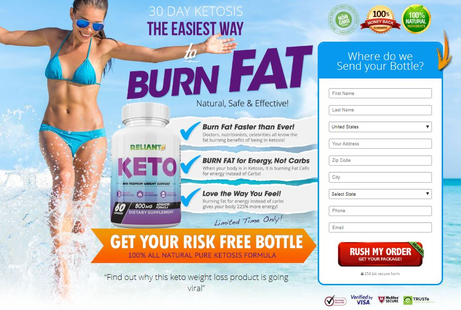 Reliant Keto Reviews