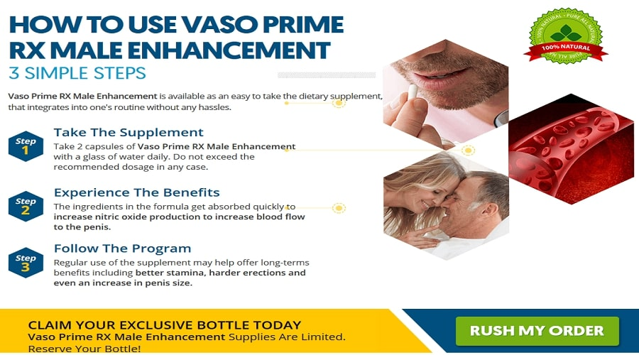 Vaso Prime Rx male enhancement working