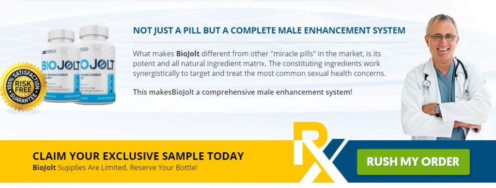 Bio Jolt Male Enhancement Benefits