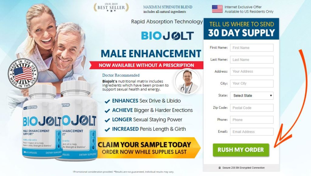 Bio Jolt Male Enhancement Reviews