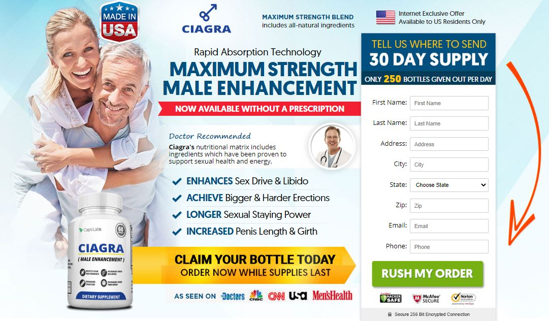 Ciagra Male Enhancement Reviews