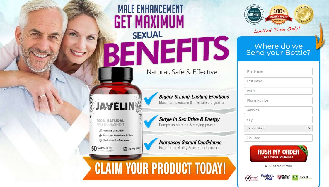 Javelin Male Enhancement Reviews